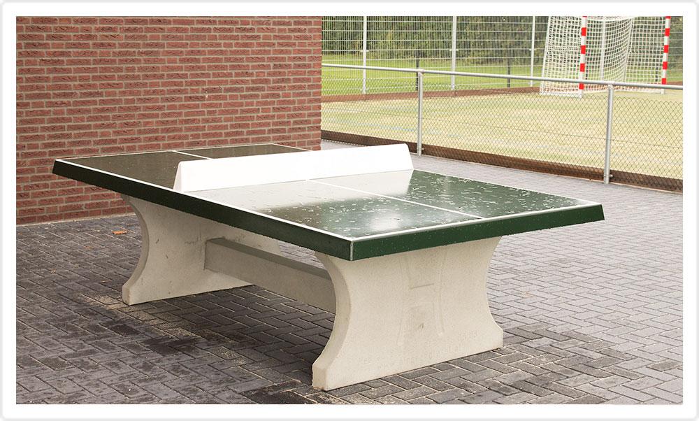 Tafeltennis tafel stichting buitensport boekel